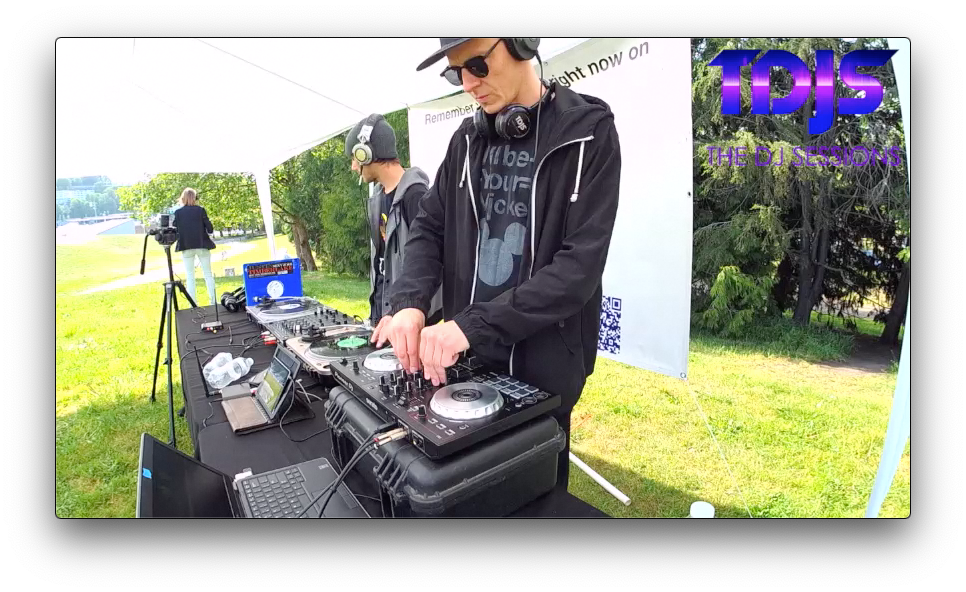 "Nick Knox on The DJ Sessions ""Silent Disco Sunday's"" at Gas Works Park in Seattle, WA 5/12/19"