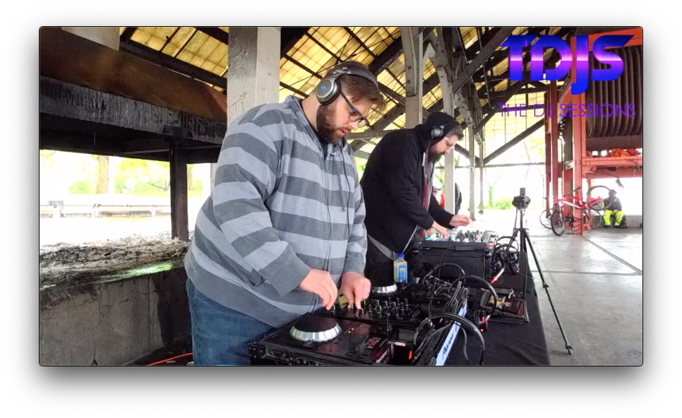 "Machine_Logic on The DJ Sessions ""Silent Disco Saturday's"" at Gas Works Park in Seattle, WA 5/25/19"