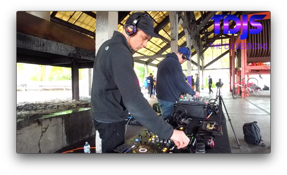 "Nick Knox on The DJ Sessions ""Silent Disco Saturday's"" at Gas Works Park in Seattle, WA 5/25/19"