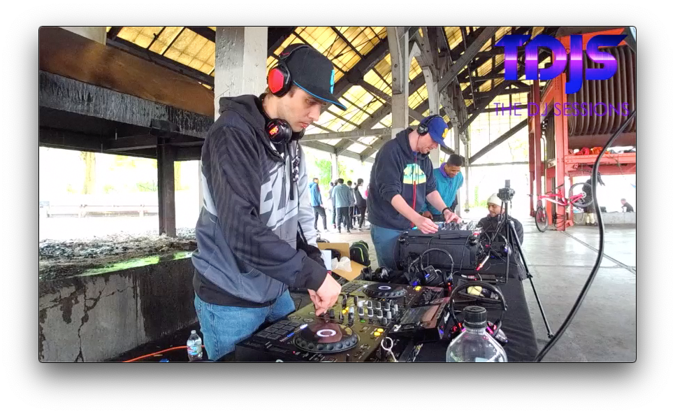 "Excalibur on The DJ Sessions ""Silent Disco Saturday's"" at Gas Works Park in Seattle, WA 5/25/19"