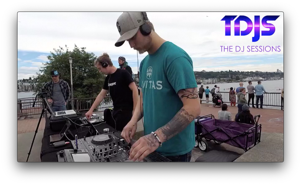 "OFT3N Pt. 1 on The DJ Sessions ""Silent Disco Sunday's"" at Gas Works Park in Seattle, WA 5/26/19"
