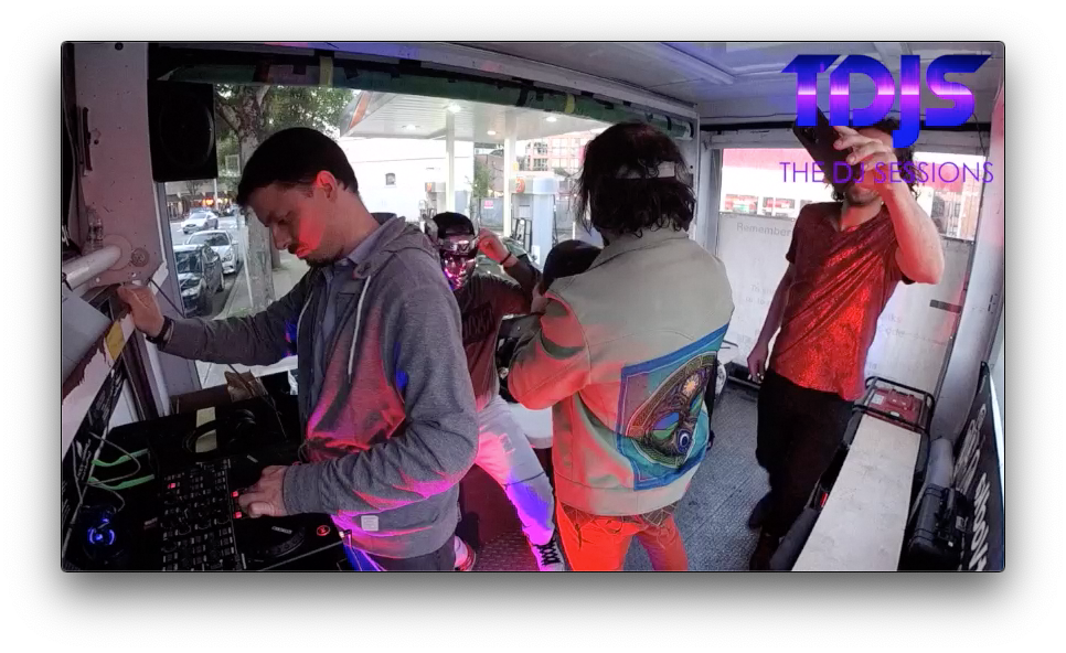 "Adrian and Ganin on The DJ Sessions ""Mobile Sessions"" in Seattle, WA 5/29/19"