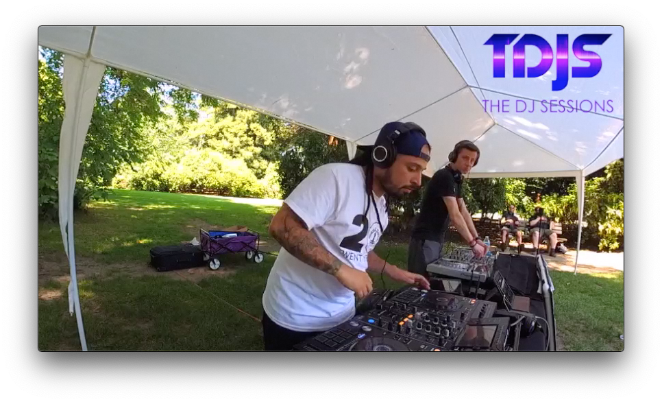 Nofux Gibbons at Parké Diem 2019 Silent Disco in Seattle presented by The DJ Sessions 6/29/19