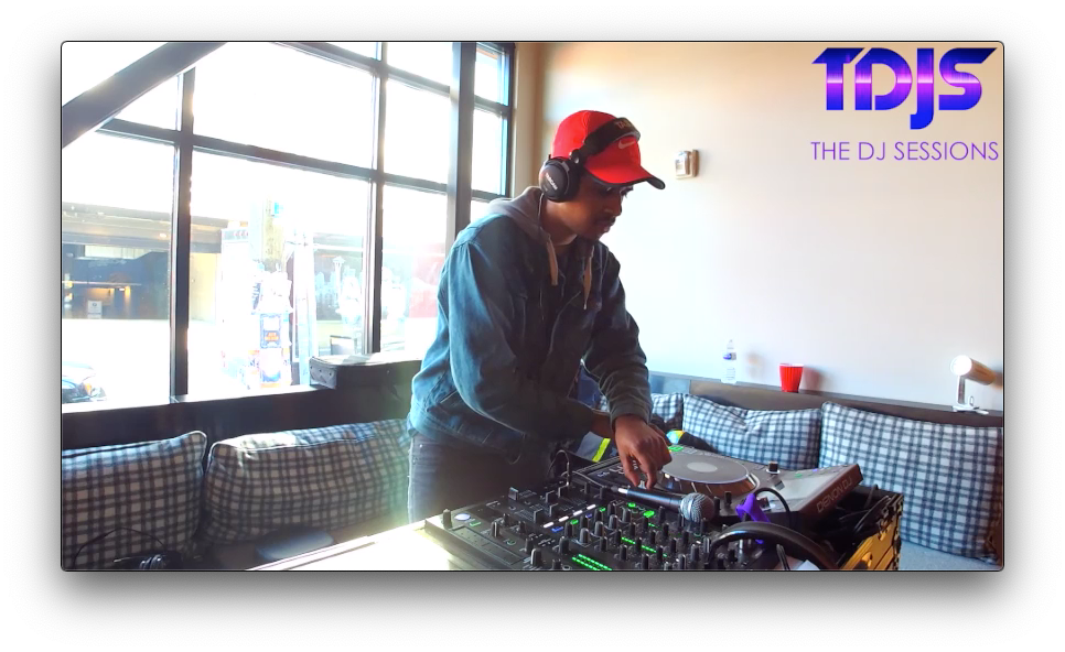 """Royce on The DJ Sessions """"Rooftop Sessions"""" at the AVA Capitol Hill in Seattle, WA 3/23/19"""
