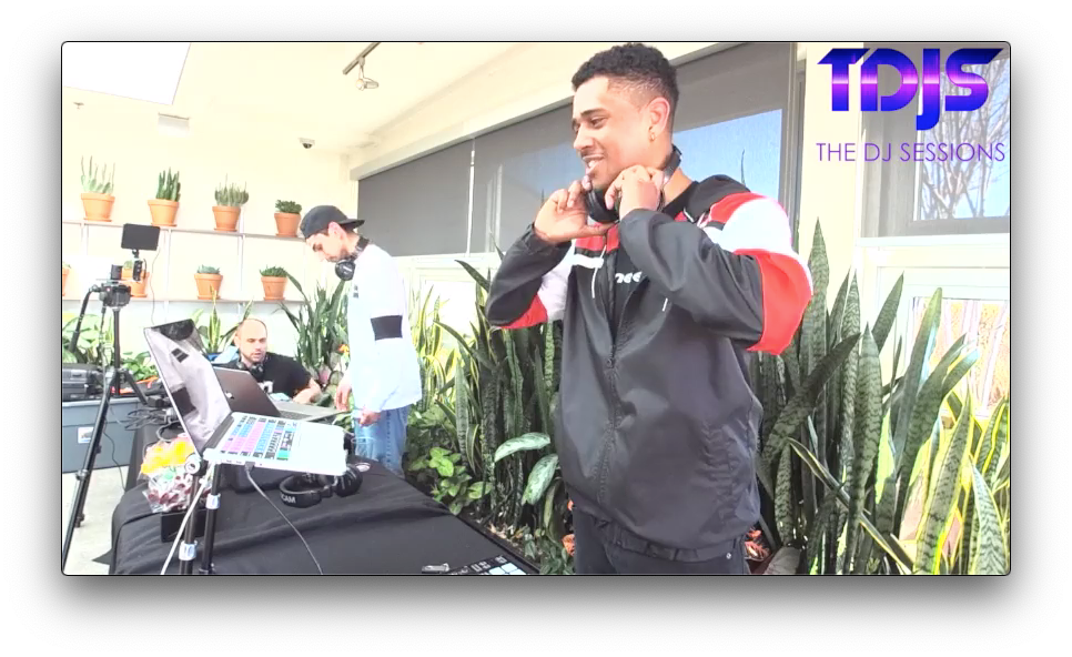 """Royce Pt. 1 on The DJ Sessions """"Rooftop Sessions"""" at AVA Queen Anne in Seattle, WA 3/30/19"""
