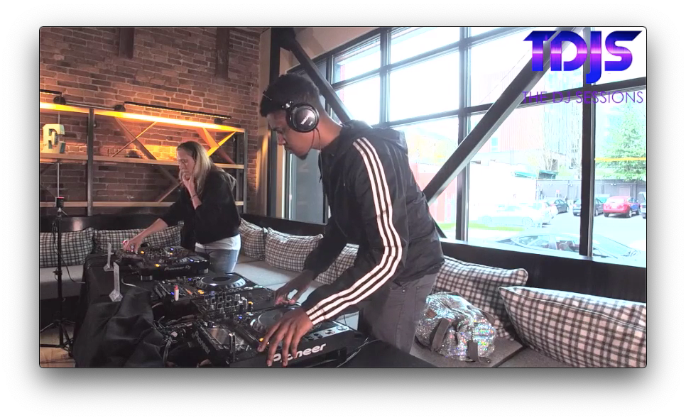 """Royce on The DJ Sessions """"Rooftop Sessions"""" at AVA Capitol Hill in Seattle, WA 4/6/19"""