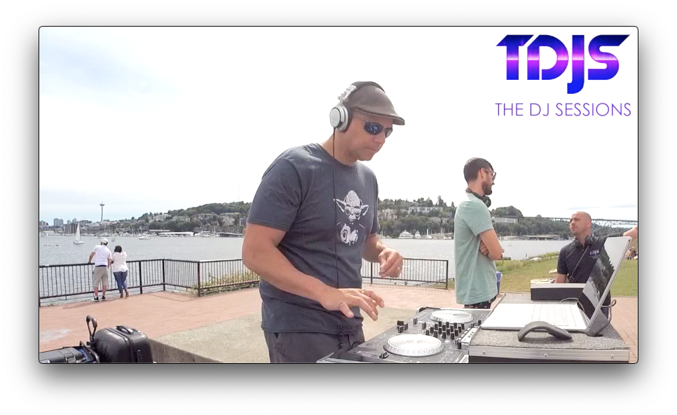 "Mr. Technocal on The DJ Sessions ""Silent Disco Sunday's"" at Gas Works Park in Seattle, WA 6/9/19"