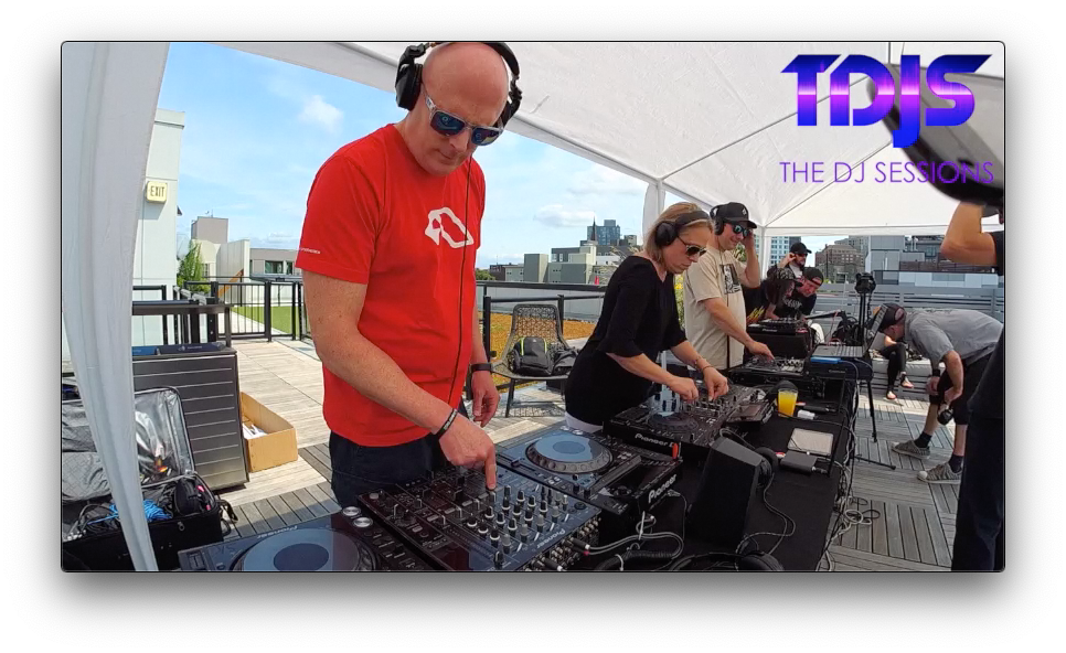 """Gotek and Matt Friendly from InMotion on The DJ Sessions presents the """"Rooftop Sessions"""" in Seattle 7/04/19"""