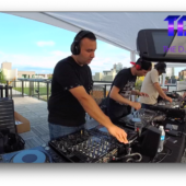 """Serjey and WEB from InMotion on The DJ Sessions presents the """"Rooftop Sessions"""" in Seattle 7/04/19"""