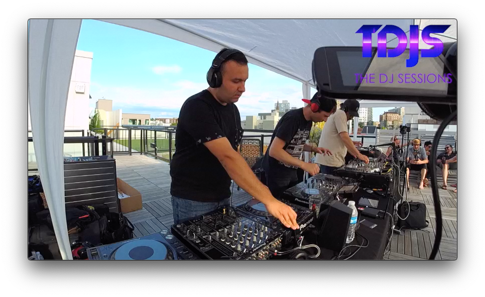 "Serjey and WEB from InMotion on The DJ Sessions presents the ""Rooftop Sessions"" in Seattle 7/04/19"