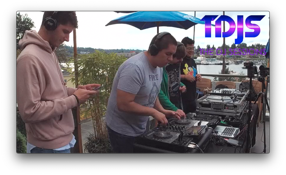 "Abraham and Ernesto pt. 1 on The DJ Sessions presents the ""Rooftop Sessions"" at Eastlake Bar and Grill 9/21/19"