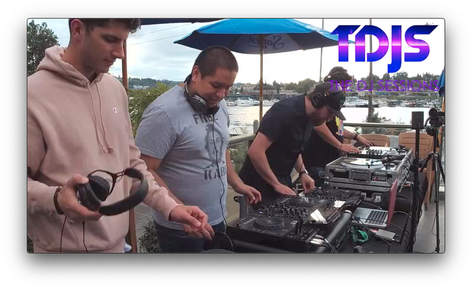 "Abraham and Ernesto pt. 2 on The DJ Sessions presents the ""Rooftop Sessions"" at Eastlake Bar and Grill 9/21/19"