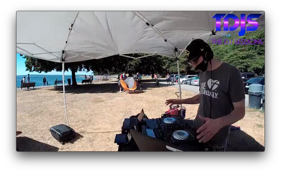 Jakefromstatefarrrm on The DJ Sessions presents the Safe Silent Disco Sessions in Seattle 7/18/20