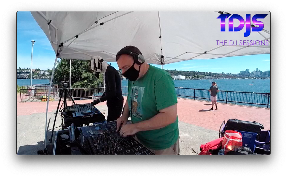 DJ Tgro on The DJ Sessions presents the Safe Silent Disco Sessions in Seattle 7/19/20