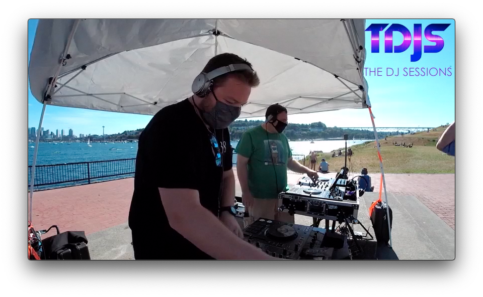 CHRIS138 on The DJ Sessions presents the Safe Silent Disco Sessions in Seattle 7/19/20