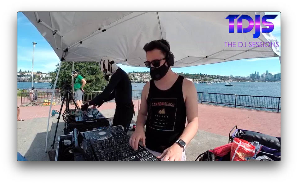 Orion on The DJ Sessions presents the Safe Silent Disco Sessions in Seattle 7/19/20