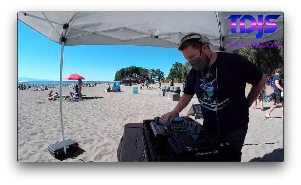 CHRIS138 on The DJ Sessions presents the Safe Silent Disco Sessions in Seattle 7/25/20