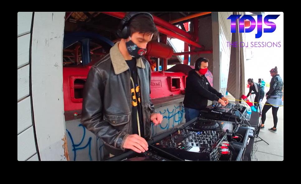DA33L€ Pt. 2 on The DJ Sessions presents Silent Disco Saturday's 10/03/20