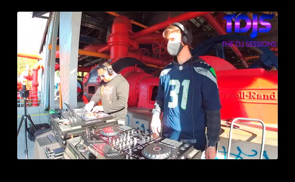 DA33L€ Pt. 1 on The DJ Sessions Silent Disco Sundays 10/25/20