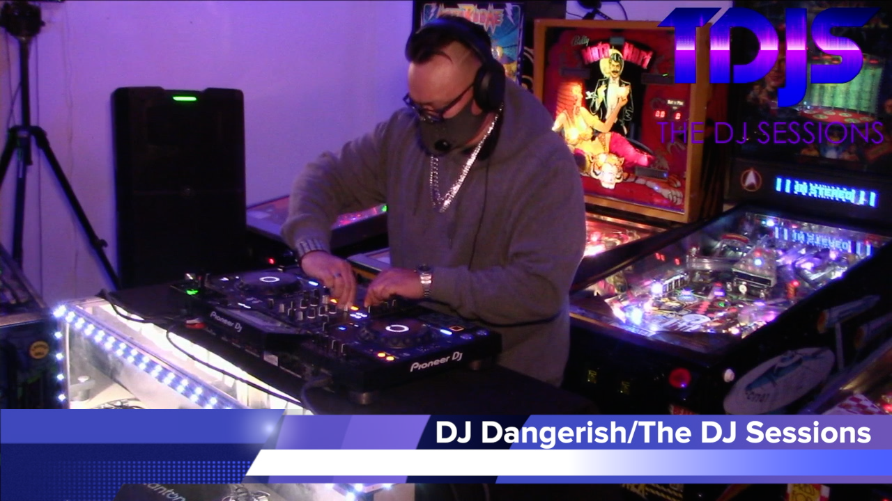 DJ Dangerish Pt. 2 on The DJ Sessions presents the Attack the Block at the Waterland Arcade 1/19/21