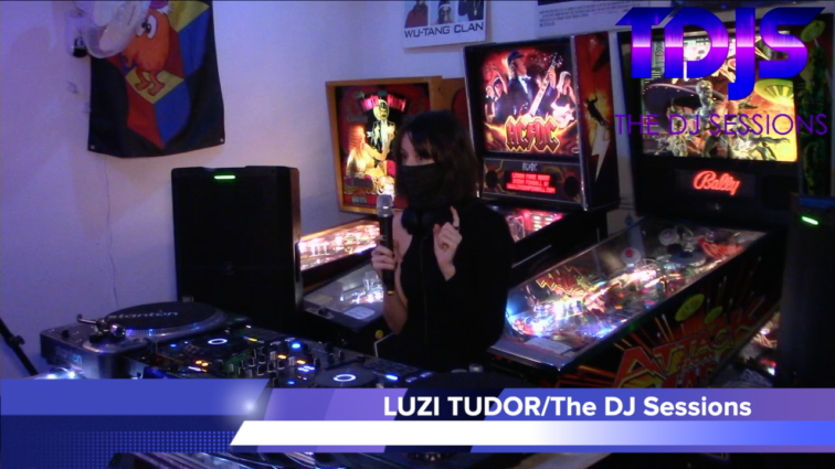 "LUZI TUDOR on The DJ Sessions presents the ""Attack the Block"" 12/29/20"