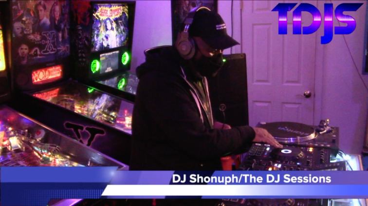 "DJ Shonuph on The DJ Sessions presents ""Attack the Block"" at the Waterland Arcade 12/29/20"