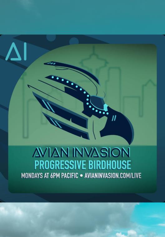 Avian Invasion - Progressive Birdhouse on The DJ Sessions