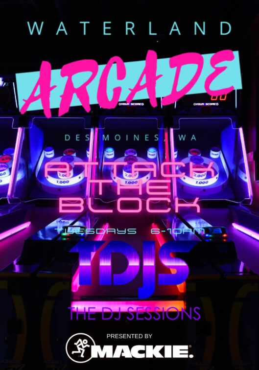 Attack the Block at the Waterland Arcade presented by The DJ Sessions