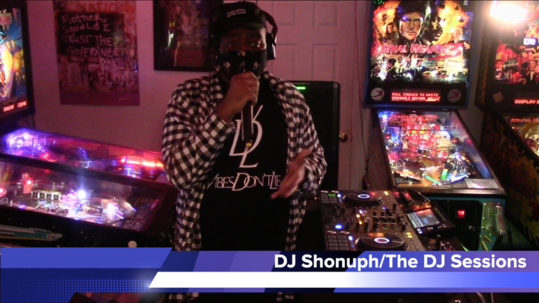 "DJ Shonuph and WD4D on Vibes Don't Lie Pt. 1 at ""Attack the Block"" by The DJ Sessions and Waterland Arcade 2/16/21"