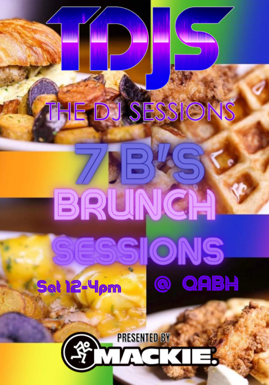 The DJ Sessions and Queen Anne Beer Hall present the 7B's Brunch Series