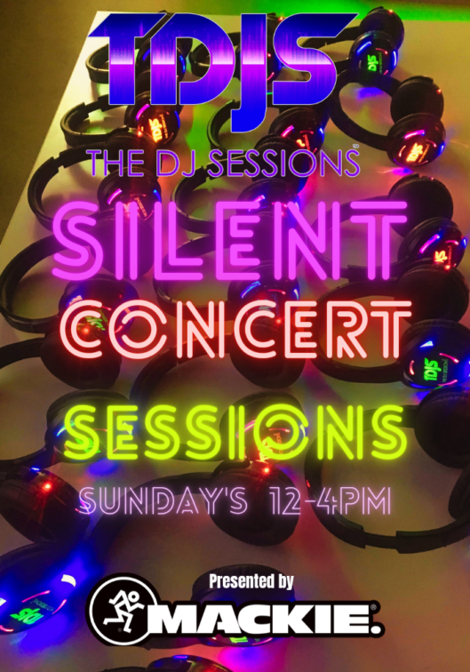 The DJ Sessions Presents Silent Concert/Silent Disco Sundays in Seattle, WA