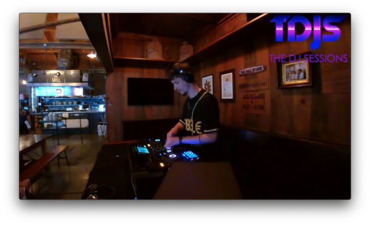 """DA33L€ Pt. 1 on the """"7B's Brunch"""" Sessions presented by The DJ Sessions at the Queen Anne Beer Hall 7/31/21"""